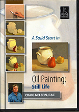 A Solid Start in Oil Painting: Still Life by Craig Nelson