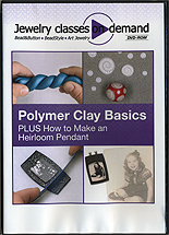 Polymer Clay Basics - PLUS How to Make a Heirloom Pendant by Miscellaneous